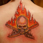 Fire Tattoos 10 150x150 - 100's of Fire Tattoo Design Ideas Picture Gallery