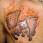 Fire Tattoos 11 150x150 - 100's of Fire Tattoo Design Ideas Picture Gallery