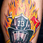 Fire Tattoos 4 150x150 - 100's of Fire Tattoo Design Ideas Picture Gallery