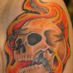 Fire Tattoos 5 150x150 - 100's of Fire Tattoo Design Ideas Picture Gallery