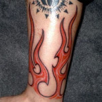 Fire Tattoos 6 150x150 - 100's of Fire Tattoo Design Ideas Picture Gallery