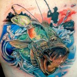 Fish Tattoos 2 150x150 - 100's of Fish Tattoo Design Ideas Picture Gallery