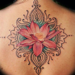 Flower Tattoos 1 150x150 - 100's of Flower Tattoo Design Ideas Picture Gallery