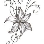 Flower Tattoos 10 150x150 - 100's of Flower Tattoo Design Ideas Picture Gallery