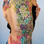Flower Tattoos 15 150x150 - 100's of Flower Tattoo Design Ideas Picture Gallery