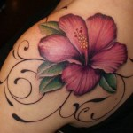 Flower Tattoos 2 150x150 - 100's of Flower Tattoo Design Ideas Picture Gallery