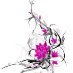 Flower Tattoos 4 150x150 - 100's of Flower Tattoo Design Ideas Picture Gallery