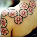 Flower Tattoos (5)