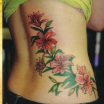 Flower Tattoos 6 150x150 - 100's of Flower Tattoo Design Ideas Picture Gallery