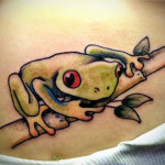Frog Tattoos 11 150x150 - 100's of Frog Tattoo Design Ideas Picture Gallery