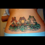 Frog Tattoos 12 150x150 - 100's of Frog Tattoo Design Ideas Picture Gallery