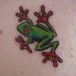 Frog Tattoos 14 150x150 - 100's of Frog Tattoo Design Ideas Picture Gallery