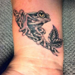 Frog Tattoos 15 150x150 - 100's of Frog Tattoo Design Ideas Picture Gallery