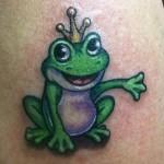 Frog Tattoos (2)
