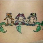 Frog Tattoos 3 150x150 - 100's of Frog Tattoo Design Ideas Picture Gallery