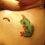 Frog Tattoos 4 150x150 - 100's of Frog Tattoo Design Ideas Picture Gallery