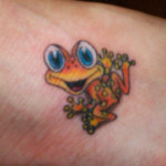 Frog Tattoos 6 150x150 - 100's of Frog Tattoo Design Ideas Picture Gallery