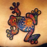 Frog Tattoos 9 150x150 - 100's of Frog Tattoo Design Ideas Picture Gallery