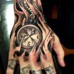 Hand Tattoos 11 150x150 - 100's of Hand Tattoo Design Ideas Picture Gallery