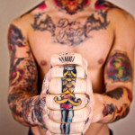 Hand Tattoos 13 150x150 - 100's of Hand Tattoo Design Ideas Picture Gallery