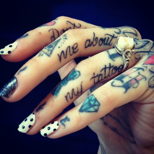 100's of Hand Tattoo Design Ideas Picture Gallery