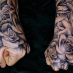 Hand Tattoos 21 150x150 - 100's of Hand Tattoo Design Ideas Picture Gallery