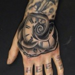 Hand Tattoos 4 150x150 - 100's of Hand Tattoo Design Ideas Picture Gallery