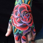 Hand Tattoos 6 150x150 - 100's of Hand Tattoo Design Ideas Picture Gallery