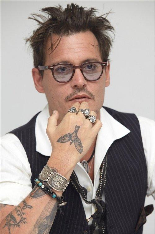 Johnny Depp Tattoos (10)