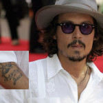 Johnny Depp Tattoos 2 150x150 - 100's of Johnny Depp Tattoo Design Ideas Picture Gallery
