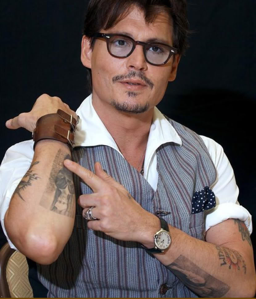 100s Of Johnny Depp Tattoo Design Ideas Picture Gallery