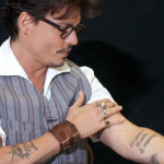 Johnny Depp Tattoos 8 150x150 - 100's of Johnny Depp Tattoo Design Ideas Picture Gallery