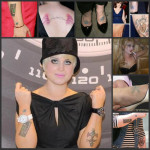 Kelly Osbourne Tattoos 9 150x150 - 100's of Kelly Osbourne Tattoo Design Ideas Picture Gallery