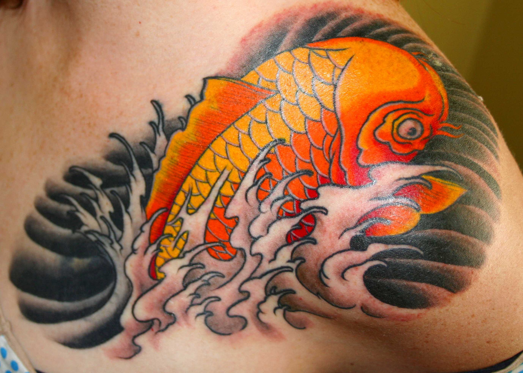 100's of Koi Tattoo Design Ideas Picture Gallery