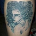 Lady Gaga Tattoos 10 150x150 - 100's of Lady Gaga Tattoo Design Ideas Picture Gallery