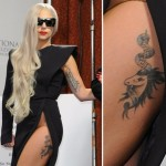 Lady Gaga Tattoos 15 150x150 - 100's of Lady Gaga Tattoo Design Ideas Picture Gallery