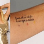 Lindsay Lohan Tattoos 14 150x150 - 100's of Lindsay Lohan Tattoo Design Ideas Picture Gallery
