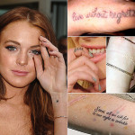 Lindsay Lohan Tattoos 15 150x150 - 100's of Lindsay Lohan Tattoo Design Ideas Picture Gallery