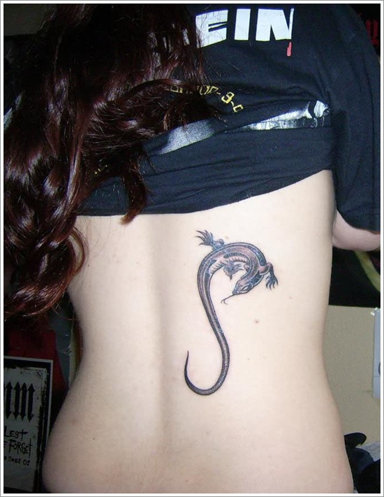 100's of Lizard Tattoo Design Ideas Picture Gallery