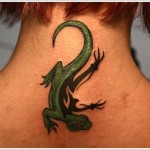 Lizard Tattoos 11 150x150 - 100's of Lizard Tattoo Design Ideas Picture Gallery