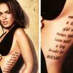 Megan Fox Tattoos 12 150x150 - 100's of Megan Fox Tattoo Design Ideas Picture Gallery