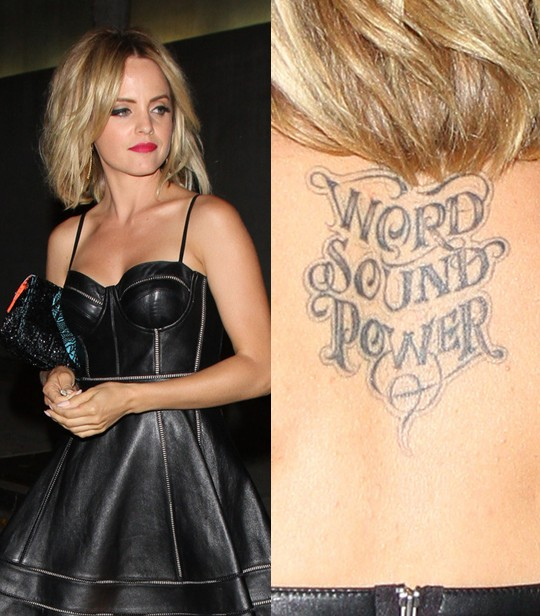 Mena Suvari Tattoos 1 - 100's of Mena Suvari Tattoo Design Ideas Picture Gallery