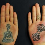 Palm Tattoos 3 150x150 - 100's of Palm Tattoo Design Ideas Picture Gallery