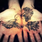 Palm Tattoos 4 150x150 - 100's of Palm Tattoo Design Ideas Picture Gallery