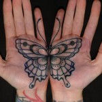 Palm Tattoos 6 150x150 - 100's of Palm Tattoo Design Ideas Picture Gallery