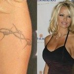 Pamela Anderson Tattoos 6 150x150 - 100's of Pamela Anderson Tattoo Design Ideas Picture Gallery