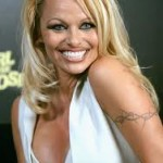 Pamela Anderson Tattoos 9 150x150 - 100's of Pamela Anderson Tattoo Design Ideas Picture Gallery