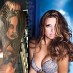 Pauly D Adriana Lima tattoo photo 150x150 - 100's of Adriana Lima Tattoo Design Ideas Picture Gallery