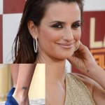 Penelope Cruz Tattoos 2 150x150 - 100's of Penelope Cruz Tattoo Design Ideas Picture Gallery