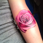 Pink Tattoos 15 150x150 - 100's of Pink Tattoo Design Ideas Picture Gallery